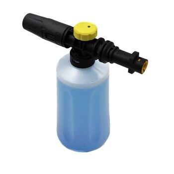 Lanza de espuma de nieve de 750ML para Karcher K2 K3 K4 K5 K6 K7 lavadoras de presión de coches generador de espuma de jabón con boquilla de rociador ajustable