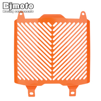 BJMOTO For KTM DUKE 690 690R 2012 2017 Motorcycle Aluminum Radiator Grille Guard Cover Protector Orange