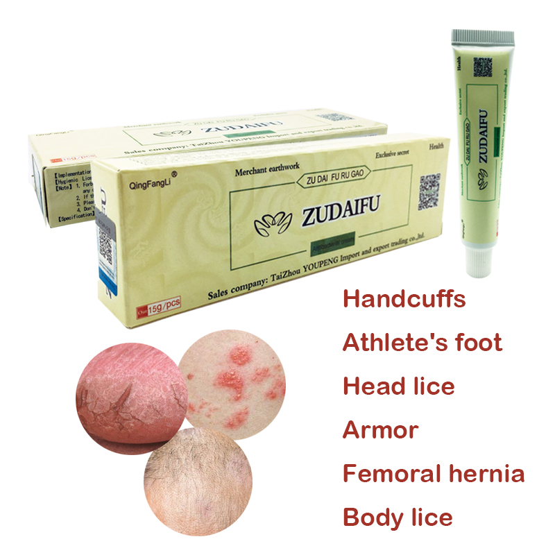 Zudaifu Psoriasis Cream Psoriasis Ointment YIGANERJING Dermatitis Eczematoid Eczema Ointment Skin Treatment Cream
