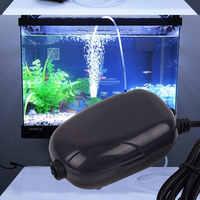 Quiet 220v 3w Single Outlet Aquarium Air Pump Fish Tank Mini Air Compressor Oxygen Pump Aquarium Accessories For Fish Tank