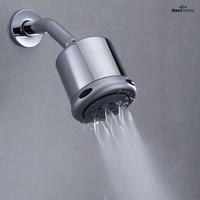 5 Function High Pressure Shower Head Saveing Water Rainfall Body Jet & Shower arm MD35005