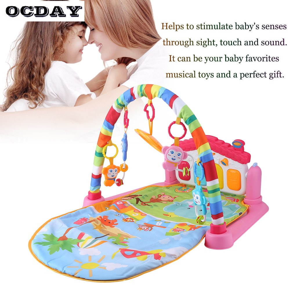OCDAY-3-in-1-Baby-Play-Rug-Develop-Crawling-Childrens-Music-Mat-with-Keyboard-Infant-Fitness-Carpet-Educational-Rack-Toys-pad-1