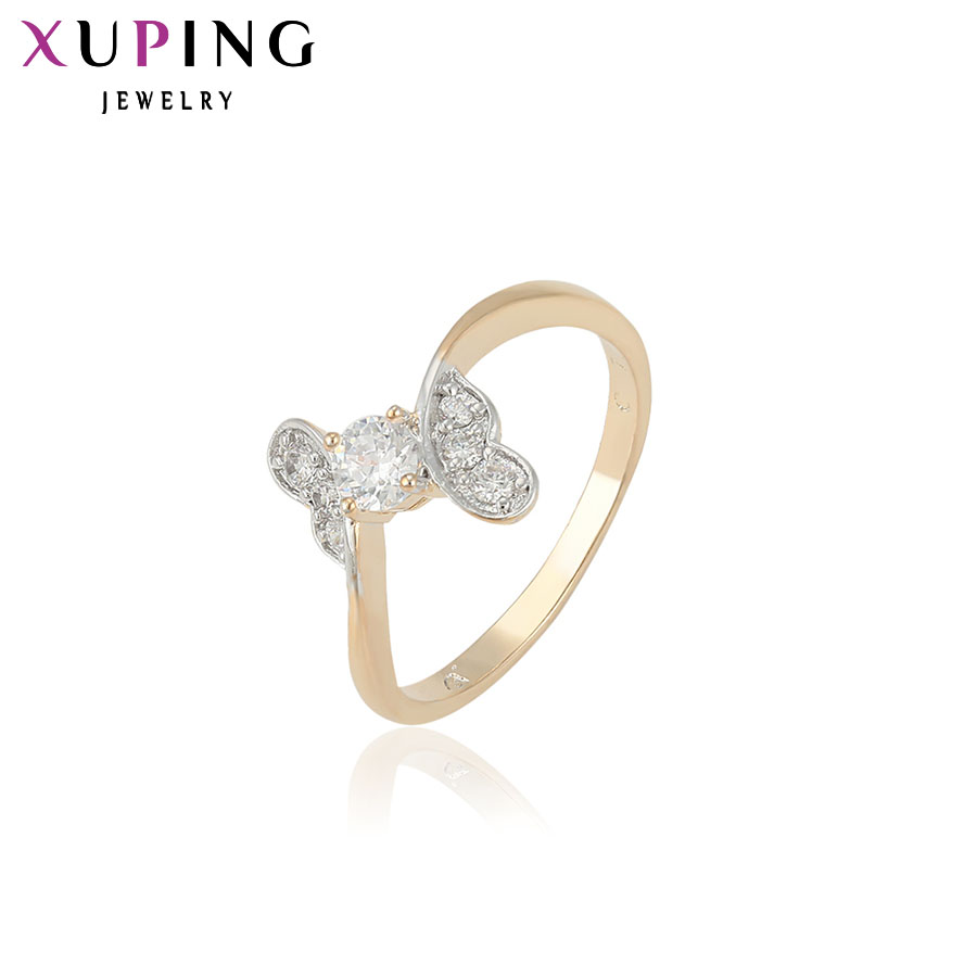 11.11 Deals Xuping Fashion Ring Synthetic CZ European Style Top Quality Jewelry Valentines Day Gift For Women Wedding 12222