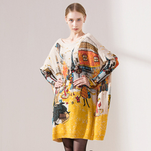 New Autumn Winter Casual Long Christmas Sweater Dress Batwing Sleeve