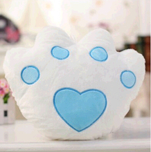 Cute and Comfortable Flashing Batteries with Batteries Dog Footprint Stuffed Cushion Never out of date Children stuffed toys