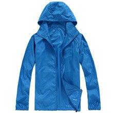 Outdoors Hiking Jacket Cycling Windbreaker Waterproof and Windproof Cycling Jackets Camping Clothes Thin Rain Jacket Women Men