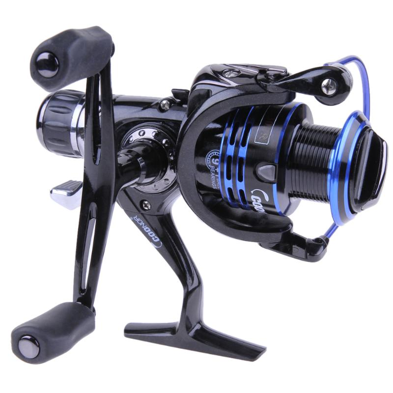 9 + 1 Ball Bearings Upgrading Drag Spinning Reel 27LB/12KG Drag Power Fishing Reel Saltwater Spinning Reel With Extra Spool