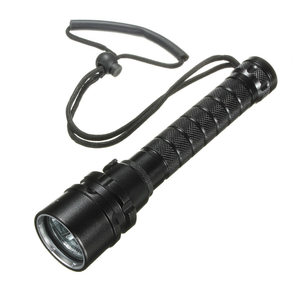 3L2 LED Rechargeable Flashlight Light Diving Flashlight 18650 Super Long-Range Waterproof 100 Meters without battery outdoor research silencer fire resistant gloves