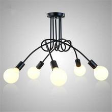 Modern Kids Ceiling Lights Lamp for Bedroom Living Room Indoor Home Lighting Led Droplight Lanterns E27 Socket Base