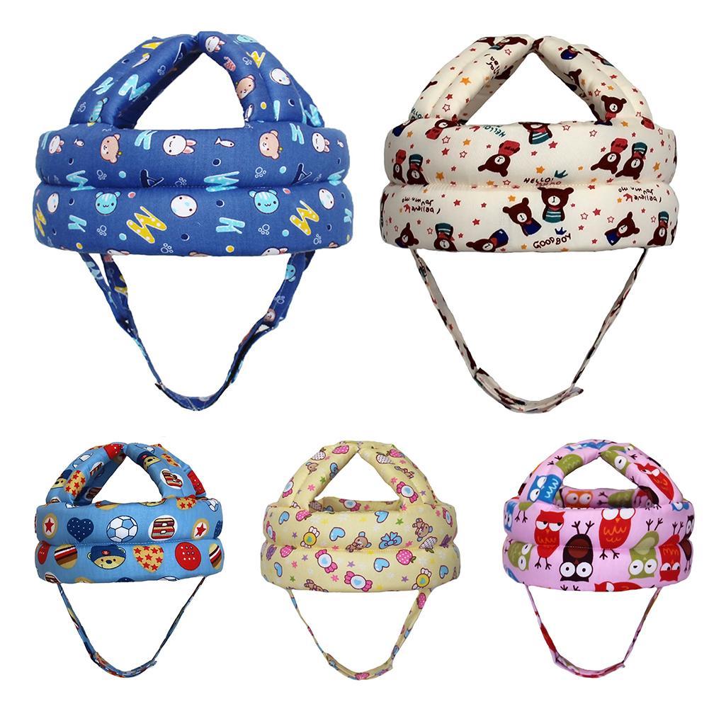 Children Magic Sticker Baby Toddler Head Protective Cap Safety Learn To Walk Cap Helmet Children Anti-Crash Cap защитный детский шлем