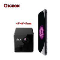 Gigxon P1 DLP Smart Projector Android 4 4 Contrast Ratio 800 1 WiFi 4800mAh Pico Projector