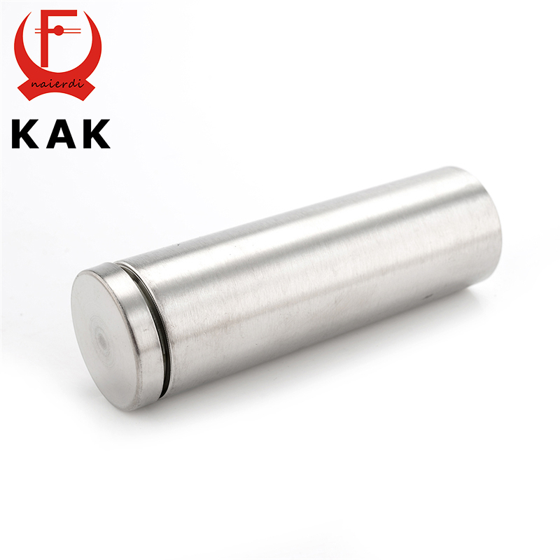 10PCS KAK Stainless Steel Acrylic Advertisement Fixing Screws 12mm x 22mm Glass Standoff Pin Nail Fasteners Hardware одежда больших размеров y06 171 2015 g94