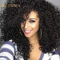 10A Cabelo Virgem Não Processado Brasileiro Afro Kinky Curly 3 Bundles Afro Kinky Do Cabelo Humano Weave Mink Cabelo Virgem Brasileira Encaracolado