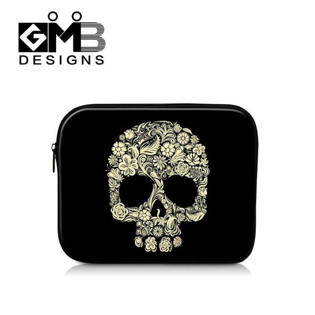 Dispalang casos cosméticos piel protectora shell caso para aplicar ipad air skull imprimir mujeres tablet accesorios cubierta para ipad mini