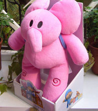 New POCOYO BANDAI PLUSH SOFT FIGURE Toy Lovely Gift For Kids ELLY with box