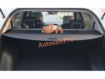 for Hyundai Santa Fe 7 Seats Pass 2013 2014 2015 2016 Rear Trunk Security Shade Black Hatch Cargo Cover Shield