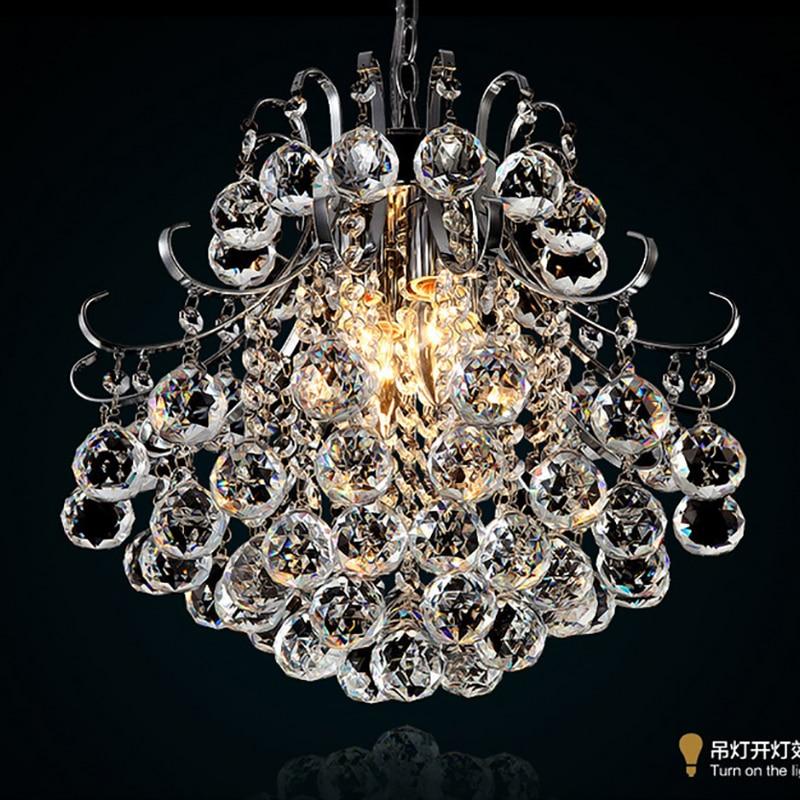 Jmxiuz Luxury Crystal Chandelier Living Room Lamp lustres de cristal indoor Lights Crystal Pendants For Chandeliers Free shiping-in Chandeliers from Lights & Lighting