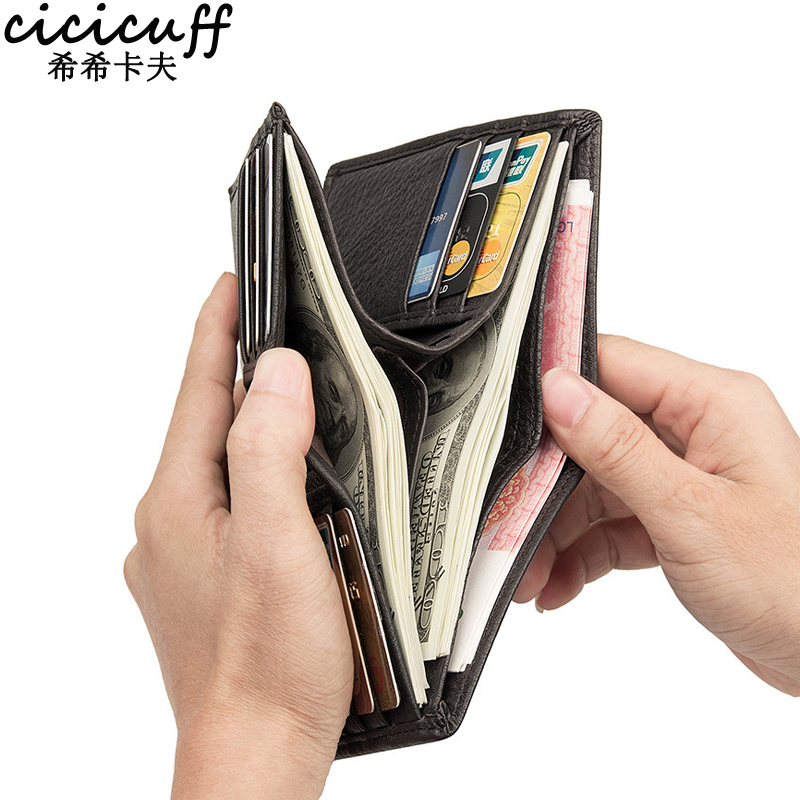 CICICUFF RFID Wallet Male…