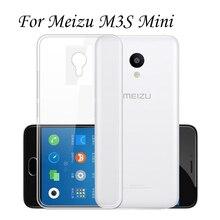 """2 Pçs/lote Para Meizu M3 5.0 """"ultrafino caso tpu pele para trás tampa transparente clara para meizu m3 mini coque capinha capa funda"""