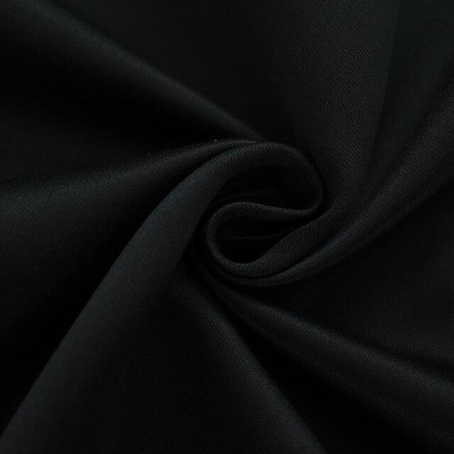 2 colori di Alta Tasso di Ombreggiatura 98% il Video All'interno Nero Cioccolato Blackout Tende per la Camera Da Letto di Caffè Tende Finestra di Trattamento Draps