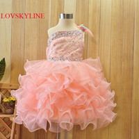 Flower Girl Dresses 2018 Cute Ball Gown Sleeveless Summer Flower Girl Dresses for Weddings Party Dresses Custom sizes & colors