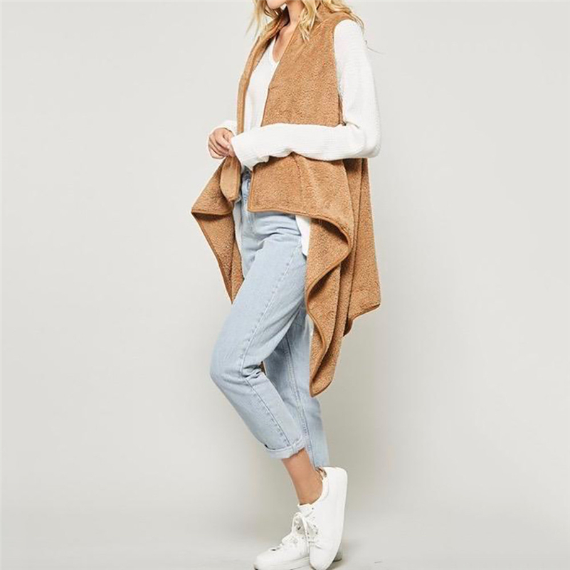 Kimono Cardigans for Women Plus Size,Womens Winter Woolen Waterfall Jacket Coat Ladies Cardigan Outwear Blouse