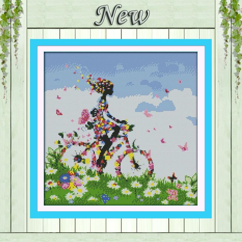 นางฟ้าดอกไม้จักรยาน, - ศิลปะงานฝีมือและการตัดเย็บ