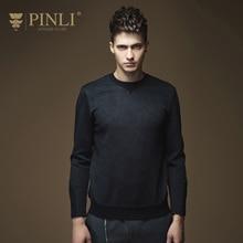 Pinli Top Mode O-ansatz Keine Standard Regelmäßige Feste Acetate Full 2016 Herbst Neue männer hoodies Persönlichkeit B163309108