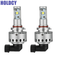 HoldCY 9005 9006 HB3 HB4 LED Car Headlight Bulb 40W 8000LM 6500K All In One Car