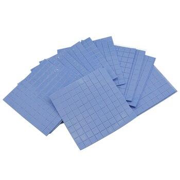 10mm*10mm*1mm Thermal Pad GPU CPU Heatsink Cooling Conductive Silicone Pad Blue High Quality gpu cpu heatsink cooling thermal conductive silicone pad 100mmx100mmx0 5mm
