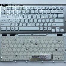 Arabic клавиатура для sony Vaio VGN-SR VGN SR серебряная рамка для ноутбука клавиатура AR макет PCG-5P4L