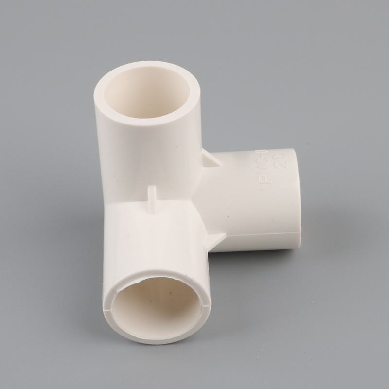 Image 5 - 2pcs PVC 3D three dimensional 3 way water pipe connector 20mm 25mm 32mm tube adapter garden irrigation fittings DIY shelf joint-in Garden Water Connectors from Home & Garden