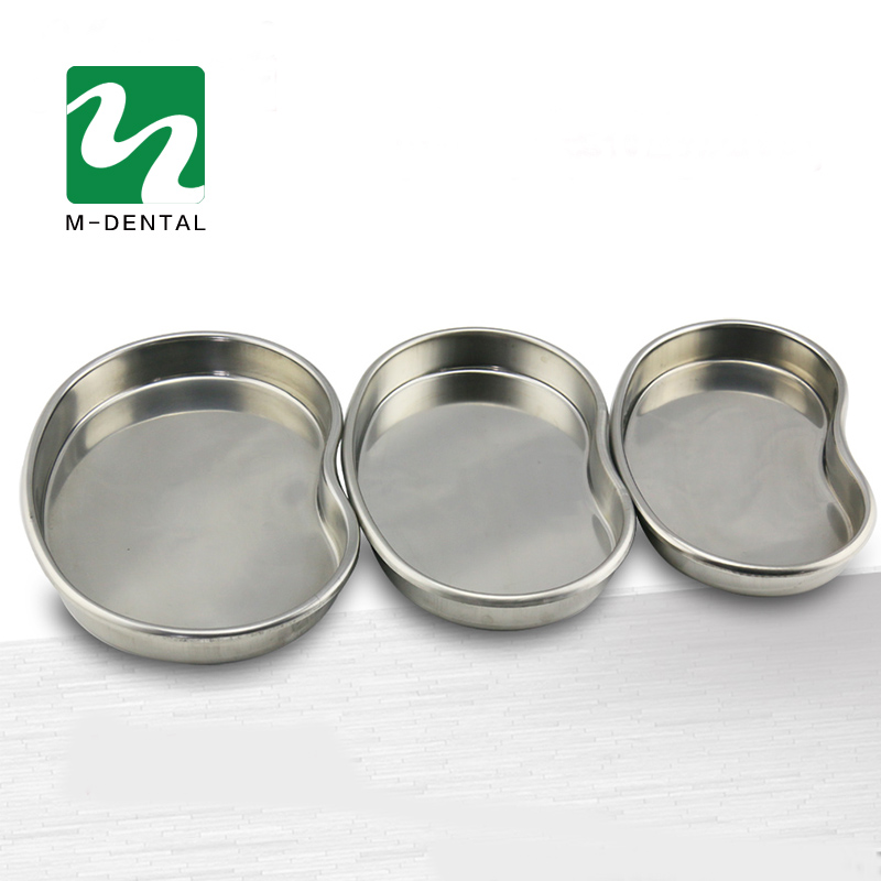 3 Pcs Stainless Steel Surgical Medical Dental Instruments Bending Tray Disinfection Plate For Eyebrow Lip Tattoo Sterilization