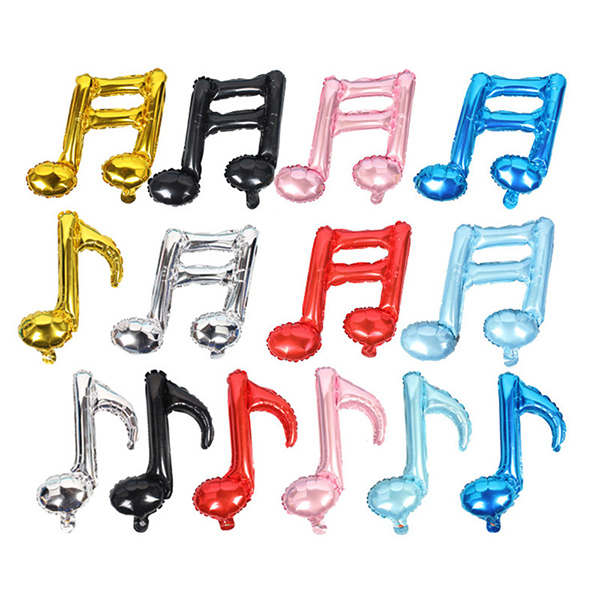 New Musical Note Balloon Wedding Decoration Happy Birthday Balloons Inflatable S
