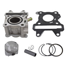 Motorcycle 38mm Bore Cylinder Piston Ring Gasket Kit for Yamaha MBK Aerox Neos Neos Ovetto Giggle 50 50cc 4 Stroke