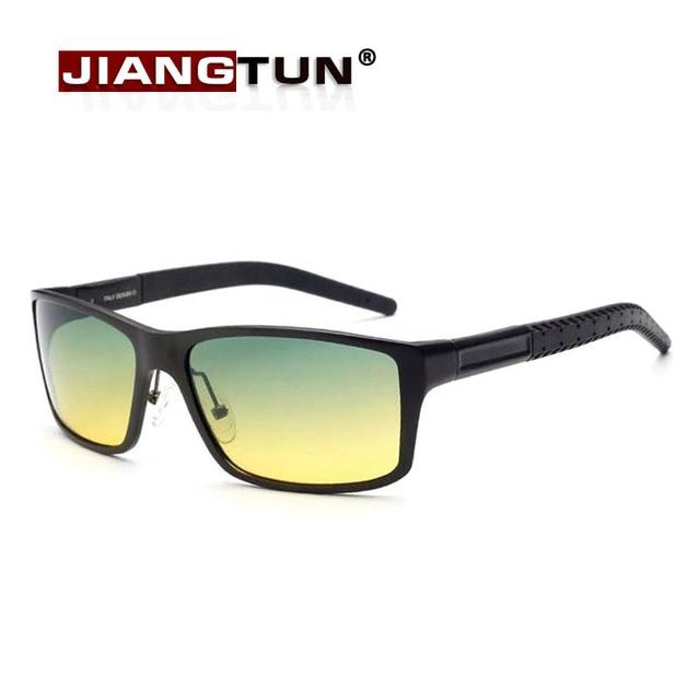 JIANGTUN De Aluminio Magnesio Hombres gafas de Sol Polarizadas Lunette de Soleil Gafas de Calidad Profesional Para la Conducción Durante Todo el Día