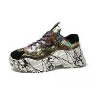 Обувь Женская Осенняя обувь на высоком каблуке Женская обувь из кожи sapato feminino женская обувь со шнуровкой на платформе кроссовки сапоги для