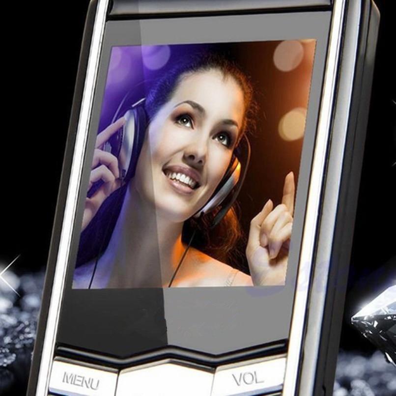 2017 4GB 8GB 16GB Flash Memory Slim MP4 Music Player With 1.8 inch TFT LCD Screen FM Radio Video Games Movie WMA WMV ASF