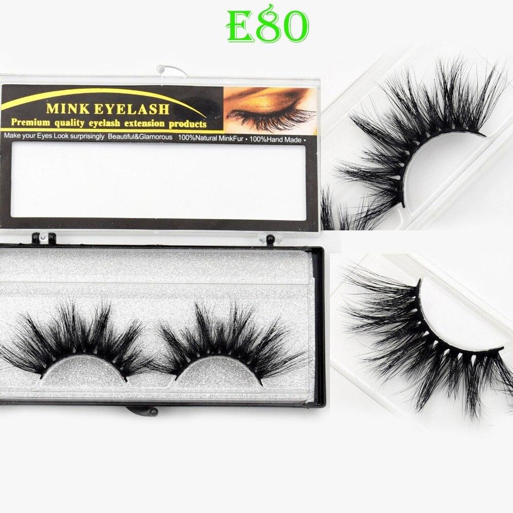 ee4c97cb675 Visofree Eyelashes 25mm 3D Mink Lashes Crisscross Mink Eyelashes Natural  Long Reusable 3D False Eyelashes Full Strip Lashes E80-in False Eyelashes  from ...
