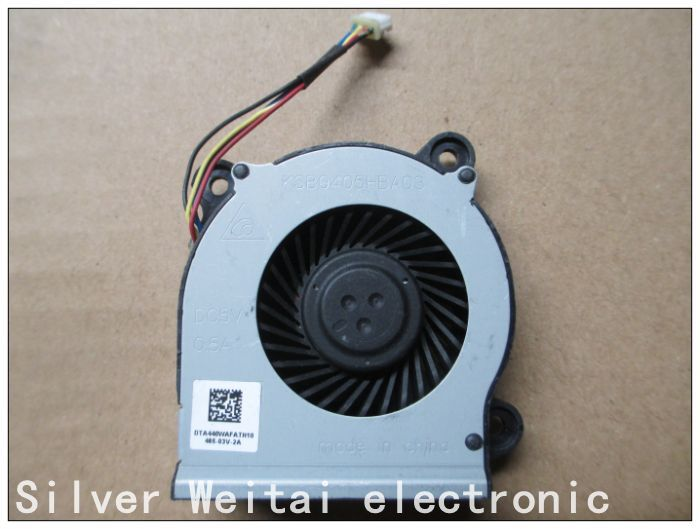 NEW CPU COOLING FAN FOR KSB0405HBA03 5V 0.5A DTA440WAFAN10 laptop COOLING FAN cpu cooling conductonaut 1g second liquid metal grease gpu coling reduce the temperature by 20 degrees centigrade