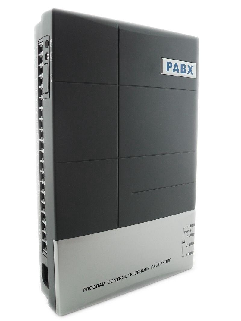 Cep telefonları ve Telekomünikasyon Ürünleri'ten PBX'de VinTelecom CS416 PBX telefon sistemi ile 4 hatları ve 16 telefon uzatma kullanıcı Yüksek kalite title=