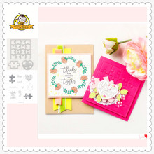 2019 New Puzzle Metal Cutting Dies and Clear Stamps Sets for Scrapbooking for DIY Card Making Cutting Crafts Stencil Dies 2019 new cups metal cutting dies and clear stamps for scrapbooking for diy card making cutting crafts stencil dies