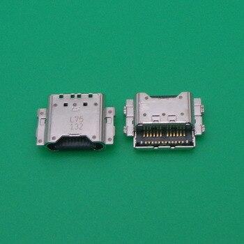 10 unids/lote Micro Usb tipo C Puerto conector de carga para Samsung Galaxy C9 C9Pro C9000 C9 Pro de carga enchufe Dock Jack