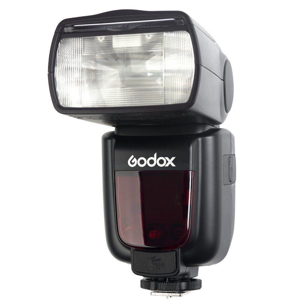 Godox V850II GN60 2 4G HSS 2000mAh Battery Camera Flash Speedlight X1T C Trigger Transmitter for Canon DSLR Camera Gift in Flashes from Consumer Electronics