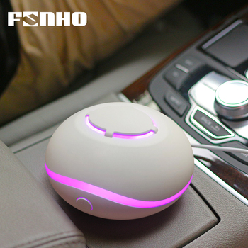 FUNHO Waterless Aromatherapy Mini Diffuser Air Purifier Essential Oil Portable Atomizer Diffusion Aroma Machine for Home and Car