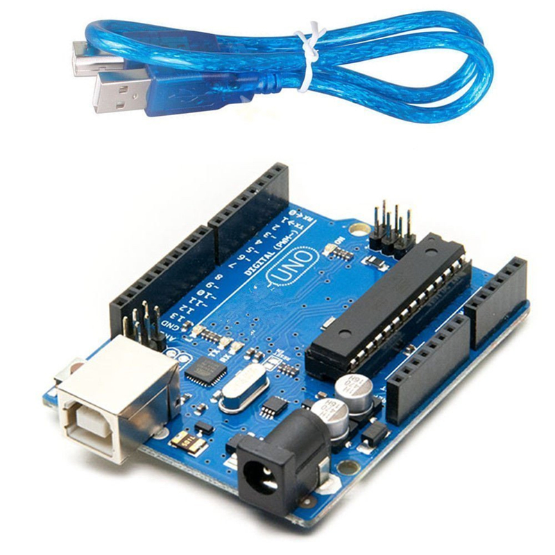 10Set UNO R3 development board Official version ATmega16U2 with USB cable for Arduino