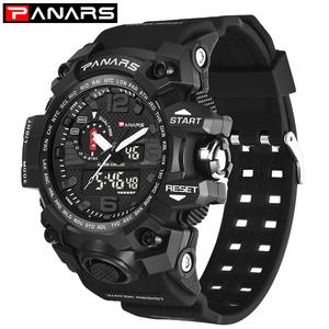 c229112cafe Panars Mens Sports Watches Wristwatch Shock Resist Clock