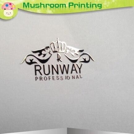 المعادن التسمية (فضية) نمط الفن الكلمات الأزياء لديه شخصية-في ملصقات مكتبية من لوازم المكتب واللوازم المدرسية على  مجموعة 1