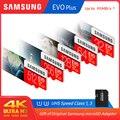 100% オリジナルサムスン micro sd 128 ギガバイト EVO プラス Class10 U1 32 ギガバイト U3 64 ギガバイト 256 ギガバイト 516 ギガバイトカード MicroSD スマートフォン用 Pc