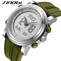 Relojes Hombre 2016 SINOBI Reloj de Los Deportes Al Aire Libre Militar LED Relojes Casuales hombres Digital Relojes de pulsera de Cuarzo Resistente A los Golpes